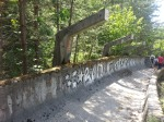 1984 Olympic bobsled run