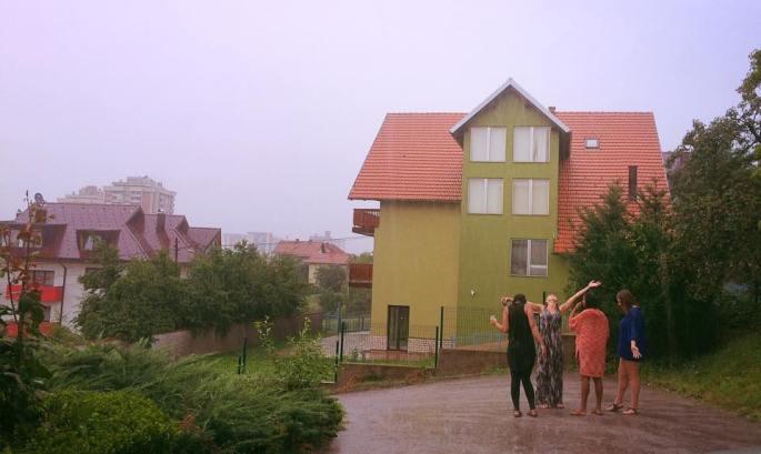 rain sarajevo